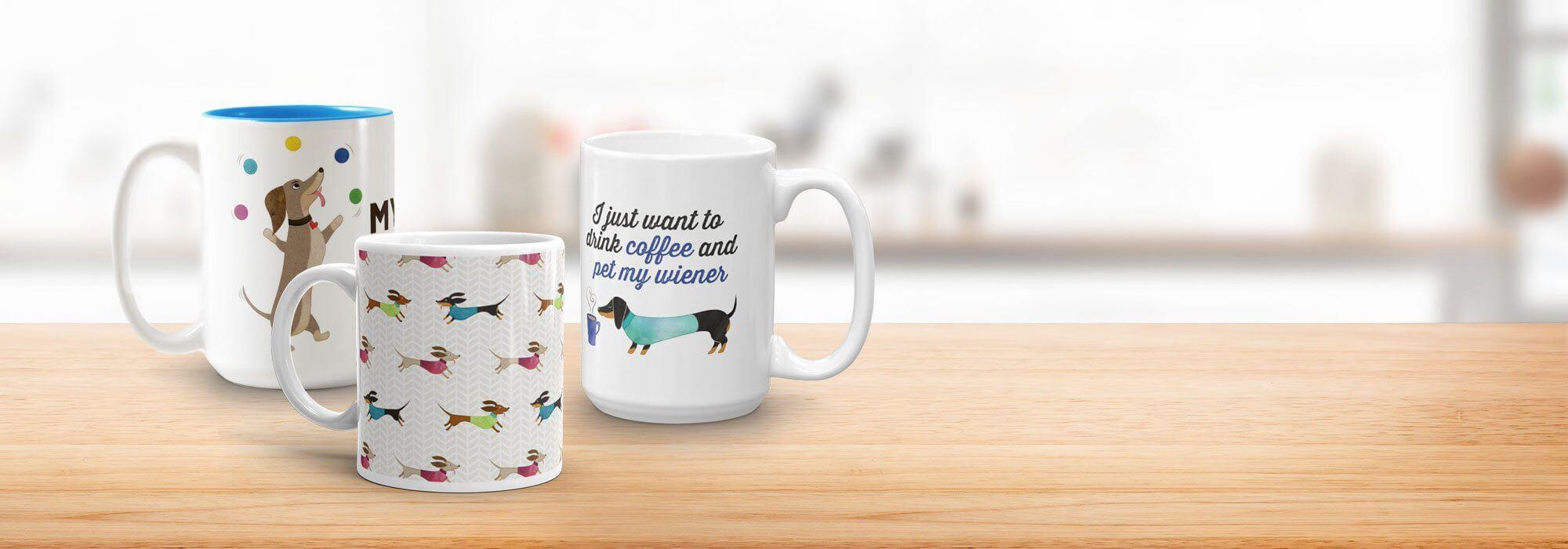dachshund mugs
