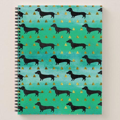 dachshund notebooks