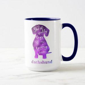Dachshund – Short Stubby Legs and a Long Body Mug